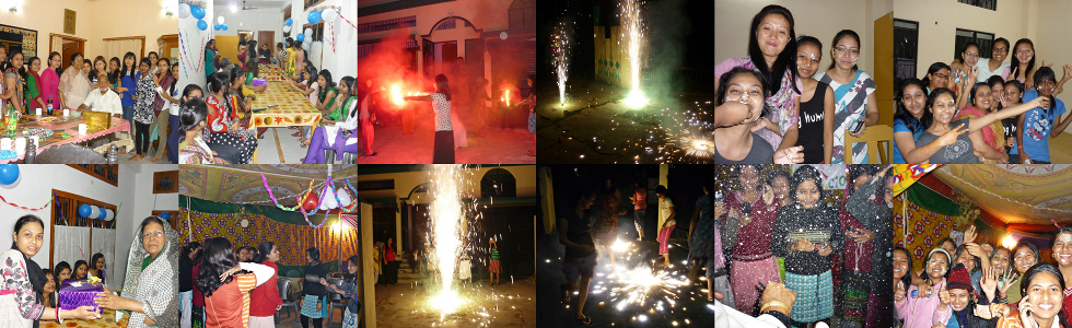 Guwahati Girls Hostel celebrations