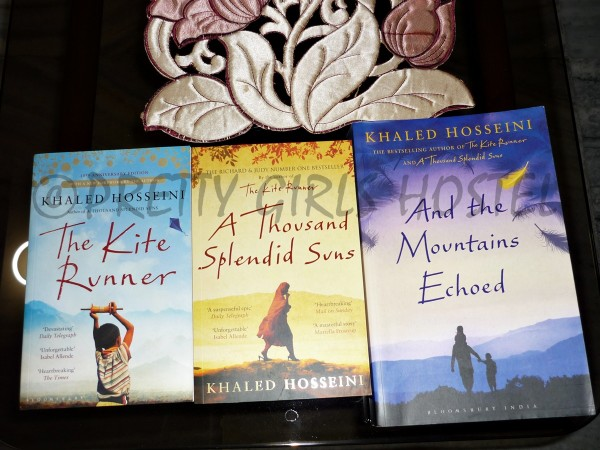 Khaled Hosseini The Kite Runner A Thousand Splendid Suns And the mountains echoed in PGH library