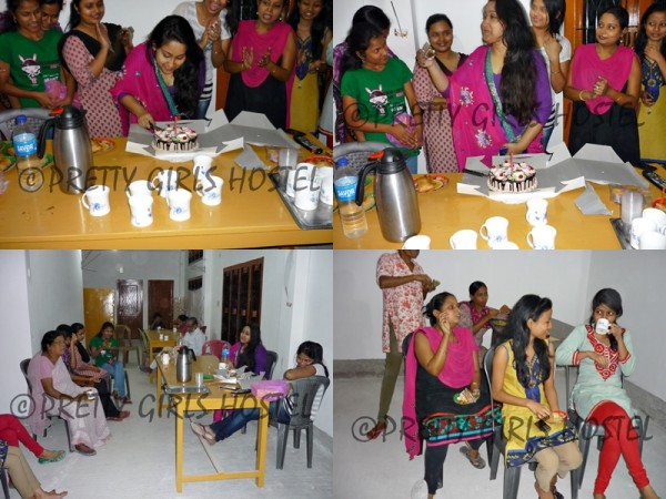 birthday celebration photos pretty girls hostel guwahati