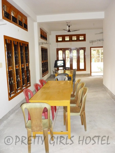 dining area guwahati girls hostel