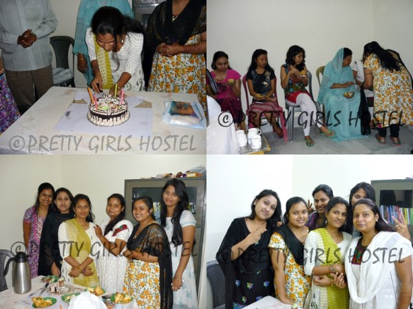 pretty girls hostel guwahati pushpanjali birthday collage