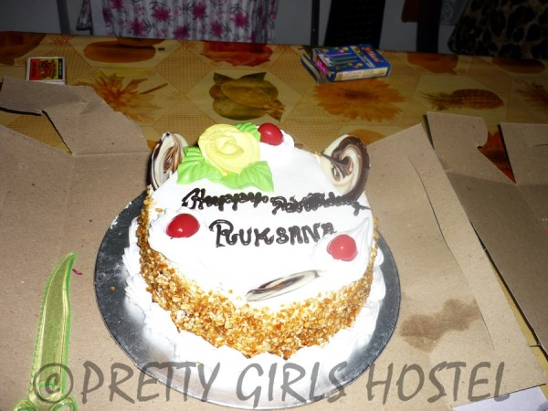 birthday cake pretty girls hostel guwahati